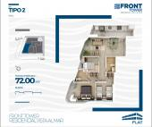 Planos Flat Front Tower