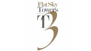 Logo Flat Sky Towers 3