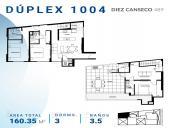 Planos Edificio Diez Canseco - Departamentos con Terraza