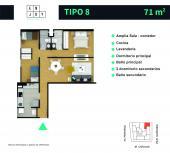 Planos Enjoy Apartments